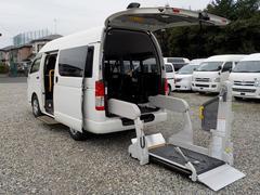 レジアスエースバン福祉車両 Bタイプ タクシーメーター 自動ドア ナビカメラ
