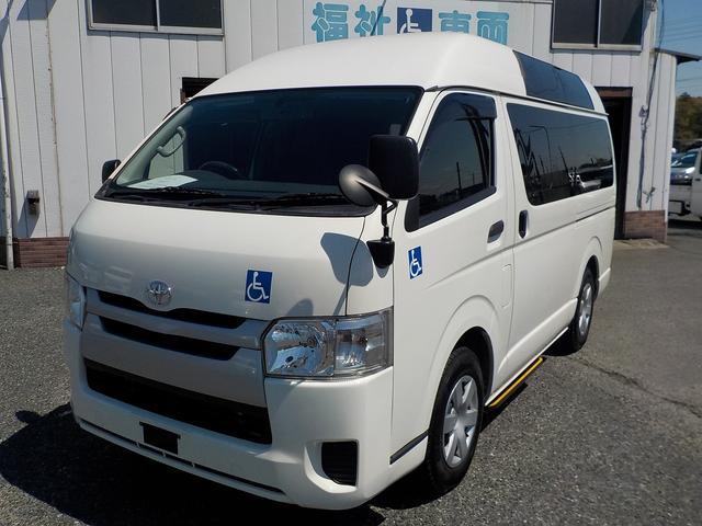 トヨタ 福祉車両 Bタイプ 車いす2基 バックカメラ 横窓付き