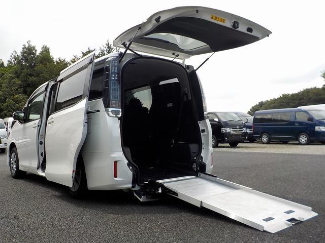 福祉車両 スロープタイプII 8人 両側自ドア インテリキー(1枚目)