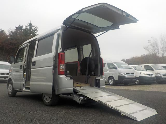 スズキ 福祉車両 スロープ 補助席付き ウィンチ 電動固定