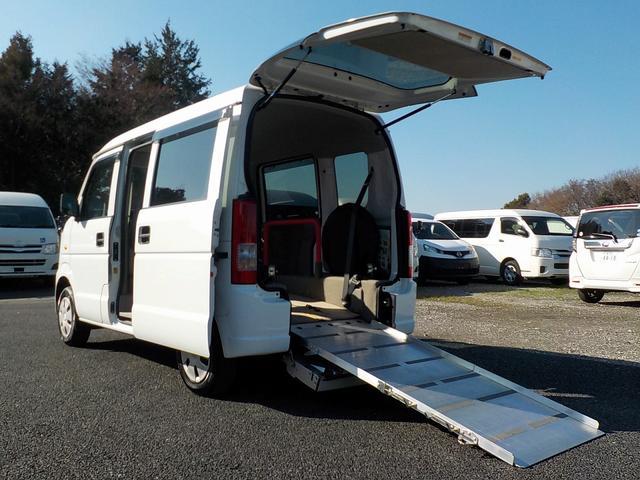 スズキ 福祉車両 スローパー 電動ウィンチ 補助席 走行0.6万km