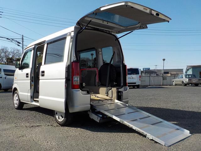 スズキ 福祉車両 スロープ ウィンチ 補助席仕様 走行1.5万km