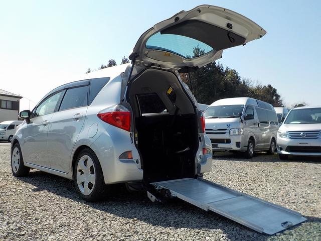 トヨタ X 福祉車両 スロープ 電動固定 ナビ Bカメラ ETC