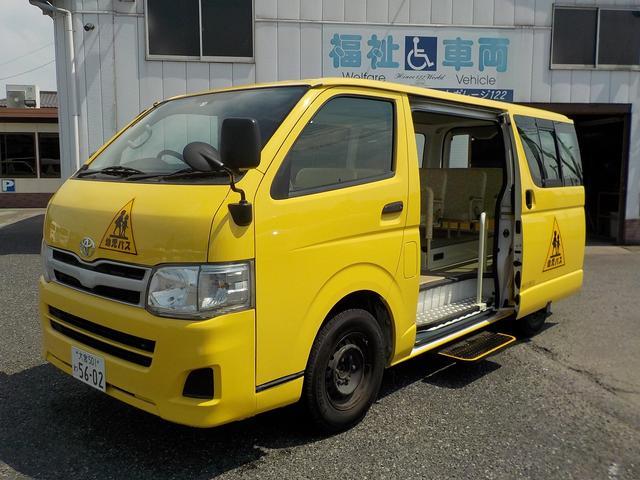 トヨタ 幼児バス 大人2幼児12 後席用冷暖房 Bカメラ 普通免許