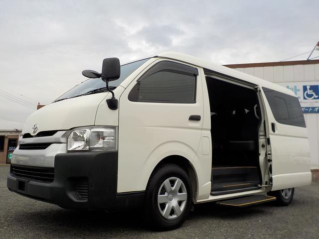 トヨタ DX ウェルキャブ 送迎仕様 福祉車両 10人乗り 普通免許 オートステップ 手すり バックカメラ 禁煙車