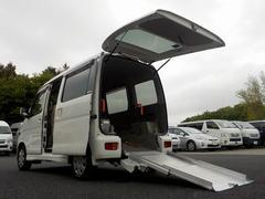 アトレーワゴンフレンドシップ スローパー 2列目シート付 福祉車両 電動ウィンチ 4速オートマ ターボ オートエアコン キーレス 電格ミラー