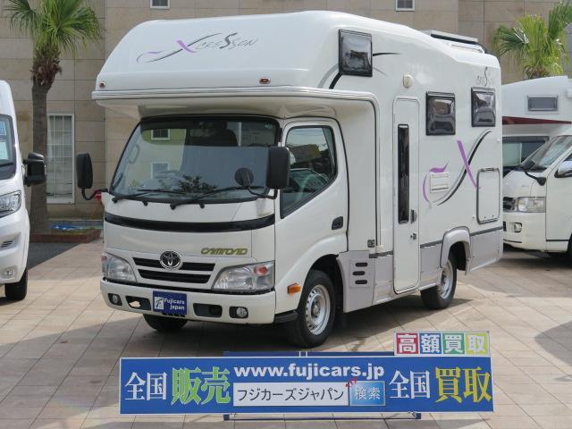 トヨタ ナッツRV製クレソン5.0X ソーラー キャンピング