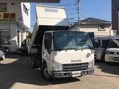 エルフトラック2t強化ダンプ AT車 ピン・コボレーン付 キーレス