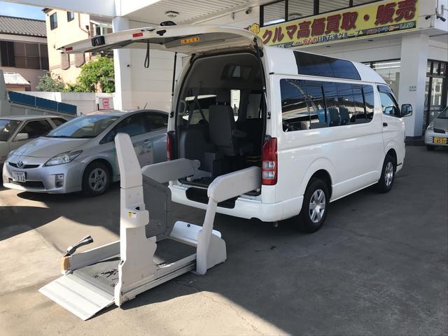 トヨタ ウェルキャブ Bタイプ10人乗り リフトアップ車