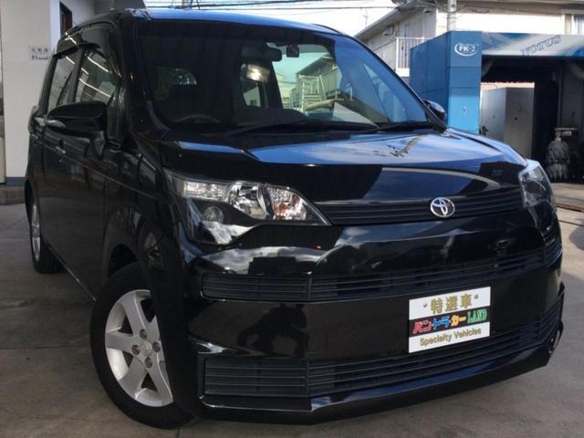 トヨタ Y 社外HDDナビ&フルセグ 左側パワースライドドア スマートキー プッシュスタート ウィンカーミラー 純正15AW ETC 車検整備付き