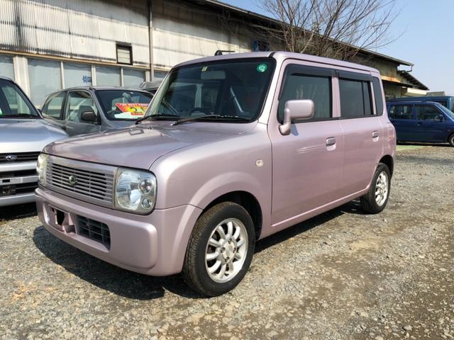 スズキ G ピンク色 ベンチシート コラムオートマ