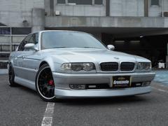 BMW740i 黒革 サンルーフ BBS19AW 天張り張替済み