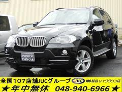 BMW X53.0si 4WD 1オーナー 黒革 SR ナビ TV
