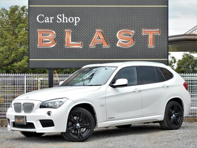 BMW X1 後期 4WD ターボ スマートキー 純正HDDナビ 18AW