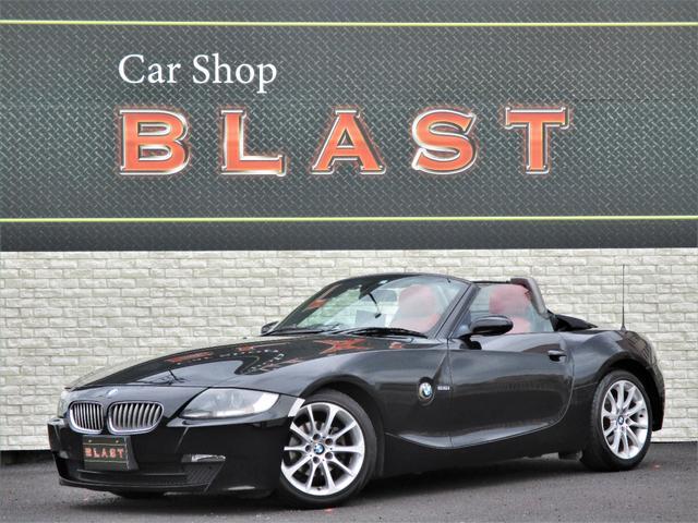BMW ロードスター2.5i 後期型 電動オープン 赤本革シート シートヒーター 純正17インチAW 純正オーディオデッキ CD キーレス HID オートライト フォグ ETC 横滑り防止 MTモード 車体カバー有