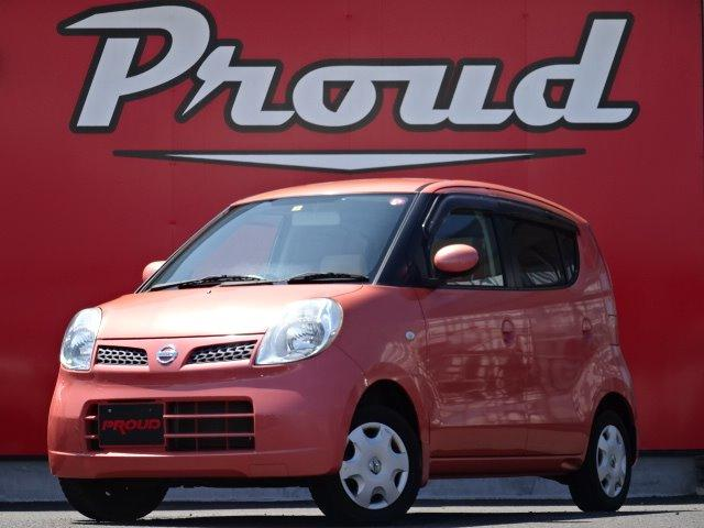 日産 モコ E 1年保証付 禁煙車 純正オーディオ オートエアコン ベンチシート ABS インテリキー タイミングチェーン