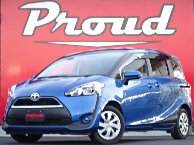 トヨタ シエンタ X 1年保証付 純正メモリーナビ キーレス ABS AC スライドドア 禁煙車 HID バックカメラ PS PW エアバッグ 3列シート