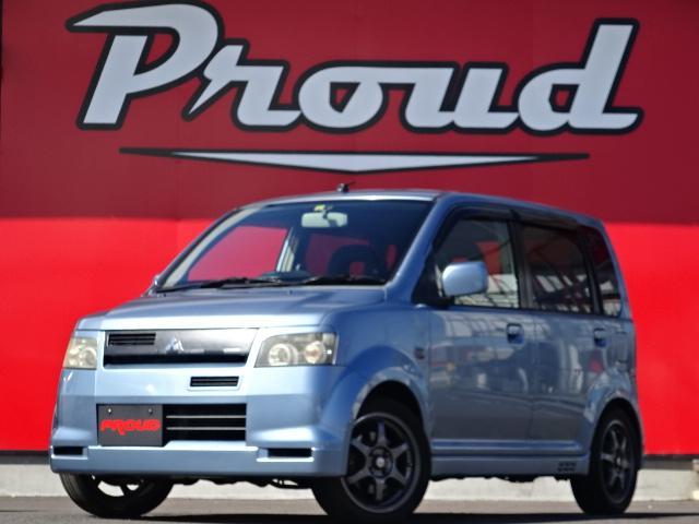 三菱 eKスポーツ R 1年保証付き 車検R3.6 社外オーディオ 社外アルミ ターボ 電格ミラー 社外マフラー キーレス ETC HID ベンチシート ABS エアバッグ PS