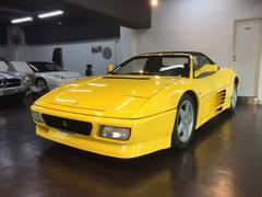 フェラーリ 348スパイダー 欧州仕様 新車並行 純正本革シート