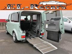 キューブ14S 福祉車両 車椅子 スローパー ナビ