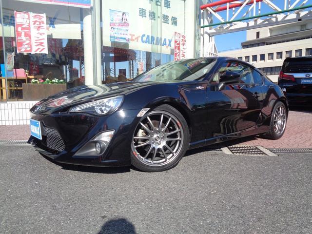トヨタ GT 社外18インチアルミ 社外ナビ スマートキー ETC