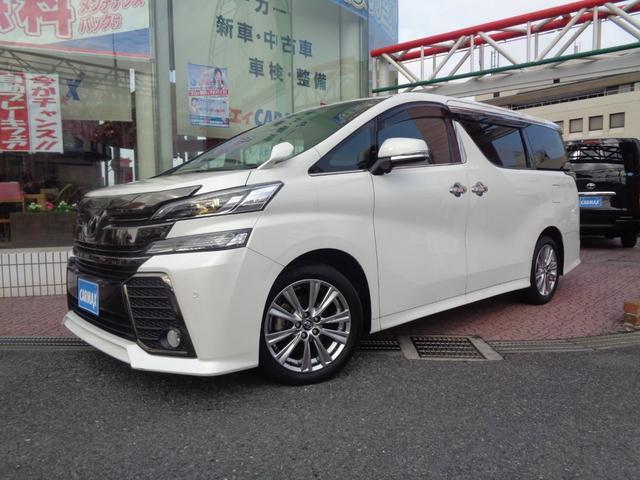 トヨタ 2.5Z Aエディション ゴールデンアイズ リアモニター