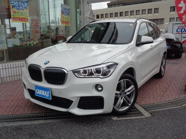 BMW X1 sDrive 18i Mスポーツ 衝突軽減 メーカーナビ バックカメラ ブルートゥース スマートキー LEDライト シートヒーター クルーズコントロール ステアリングリモコン ETC ドライブレコーダー クリアランスソナー 純正アルミ