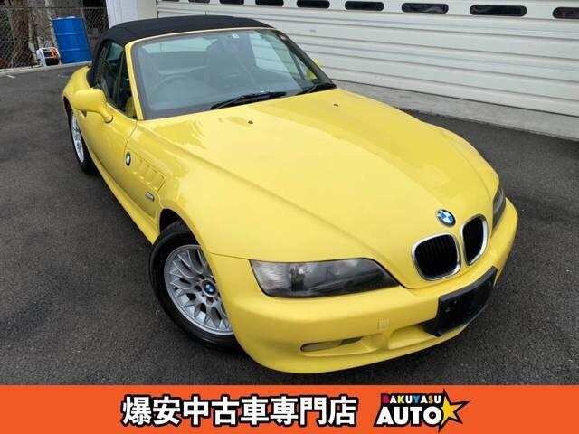 BMW Z3ロードスター ベースグレード 15インチアルミ ABS カセット再生 パワステ パワーウィンドウ