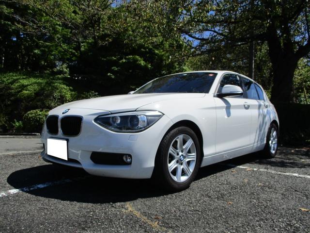 BMW 1シリーズ 116i ワンオーナー車 ETC プッシュスタート 記録簿 禁煙車