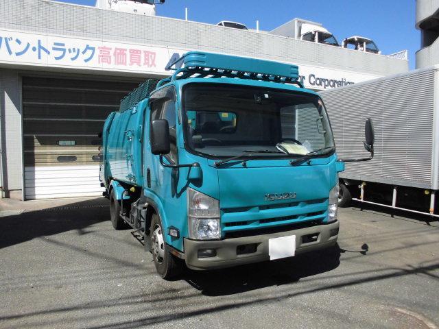 いすゞ プレス式パッカー車ワイド2.9トン5.9立米