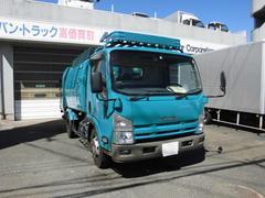 エルフトラックプレス式パッカー車ワイド2.9トン5.9立米