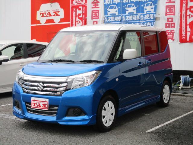 スズキ GX2 2トーンカラー 登録済み未使用車 1セグ内蔵カーナビ・Bluetooth機能 両側電動スライドドア クルーズコントロール 前席シートヒーター