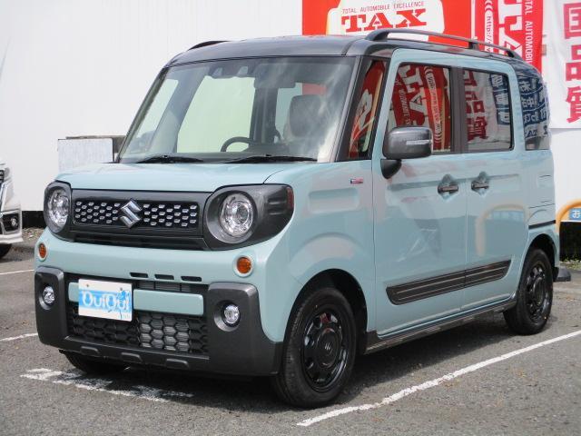 スズキ スペーシアギア ハイブリッドXZ ターボ クルーズコントロール搭載・届出済み未使用車