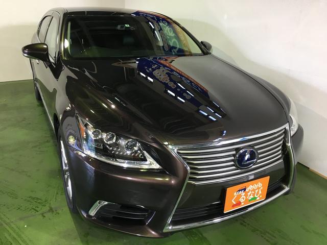 レクサス LS600hL黒革エアーシートマークレビンソン