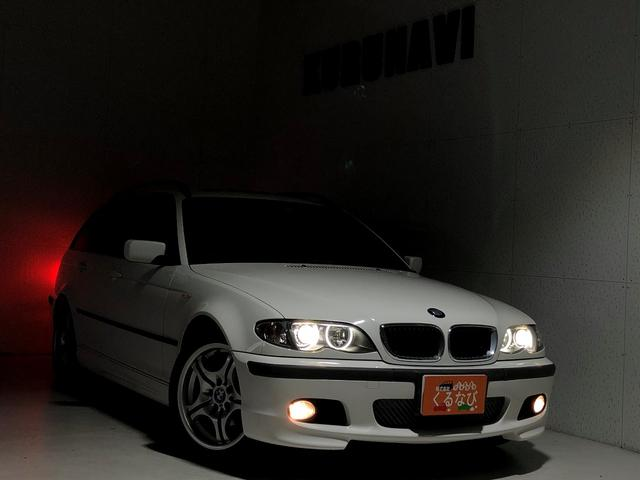 BMW 3シリーズ 318iツーリング Mスポーツパッケージ 関東仕入 社外ナビ