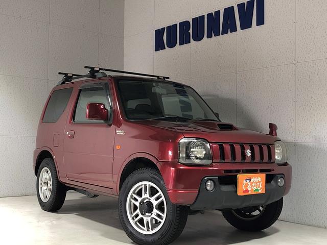 スズキ ワイルドウインド 4WD 関東仕入 ナビ TV 純正16インチアルミ ETC