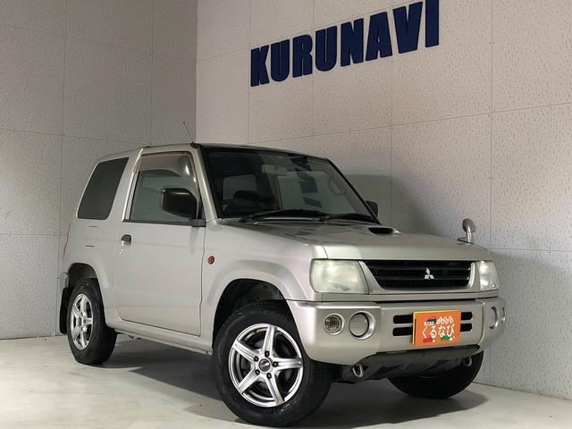 三菱 パジェロミニ V 関東仕入 4WD 純正オーディオ キーレス