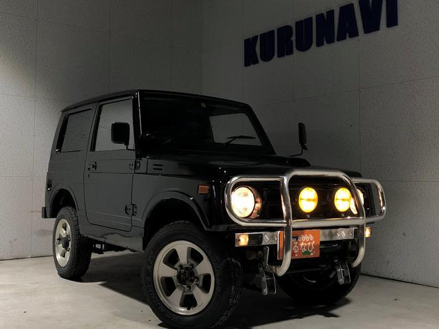 スズキ ジムニー HC 5速マニュアル 関東仕入 社外バンパー グリルガード オーディオ 4WD