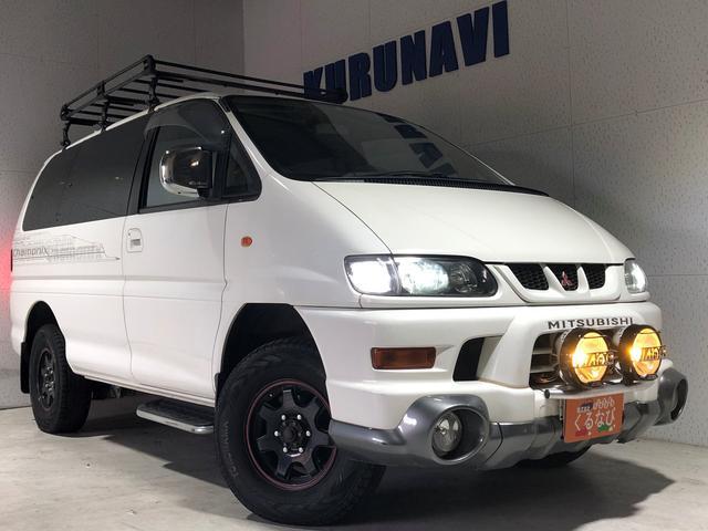 三菱 エアロ 関東仕入 4WD 社外ステアリング