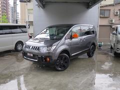 デリカD:5アクティブギア 4WD限定車FSBカメラ付SDナビ未登録車