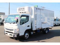 キャンター冷蔵冷凍車2層式