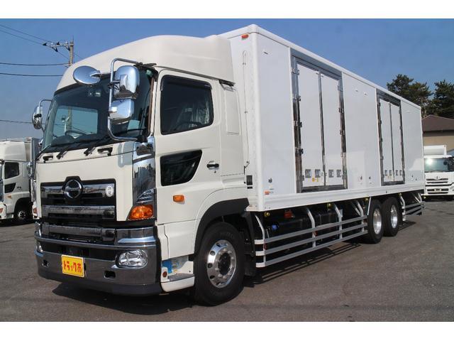 日野 冷蔵冷凍車 9.6mスタンバイ ジョルダー4列
