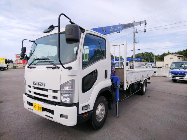 いすゞ タダノ4段クレーン ラジコン 標準ロング