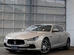 マセラティ ギブリワンオーナー 認定中古車