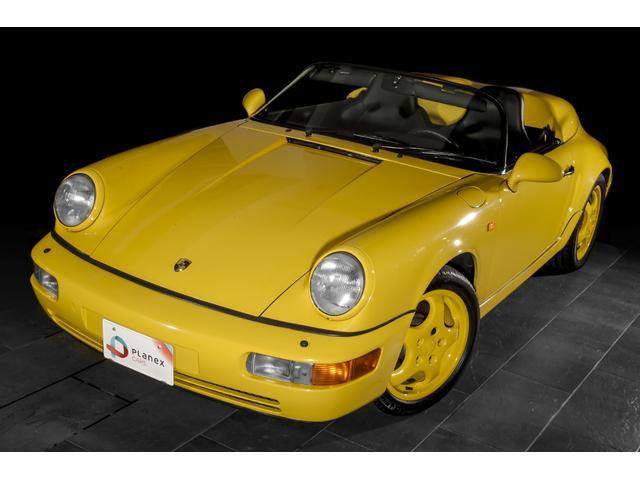 ポルシェ 911カレラ2 スピードスター type964 ディーラー車