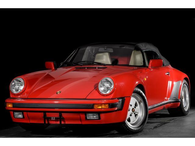 ポルシェ 911スピードスター ターボルック レザーシート