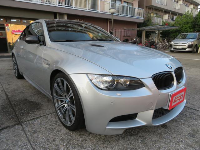 BMW M3クーペ 左ハンドル カーボンルーフ カーボンスポイラー