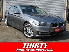 BMW523iラグジュアリー ACC 黒革 OP19インチAW