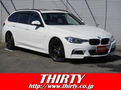BMW320dツーリング Mスポーツ 黒革 サンルーフ ACC