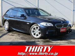 BMW523dツーリング Mスポーツ 純正ナビTV Bカメラ 黒革